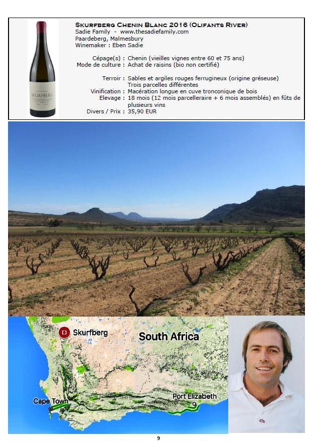 vins rouges afrique du sud
